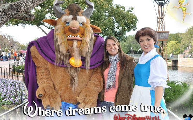 Princesas da Disney : Bela no Epcot
