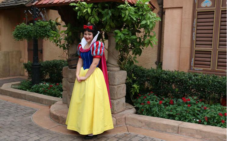 Princesas da Disney: Branca de Neve no Epcot!