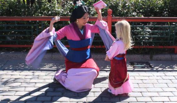 Princesas da Disney: Mulan está no Epcot!!!