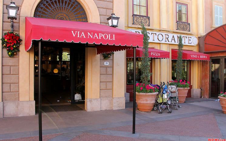 Disney: Cantina italiana no Epcot