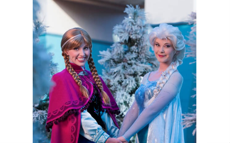Frozen no parque Hollywood Studios!!