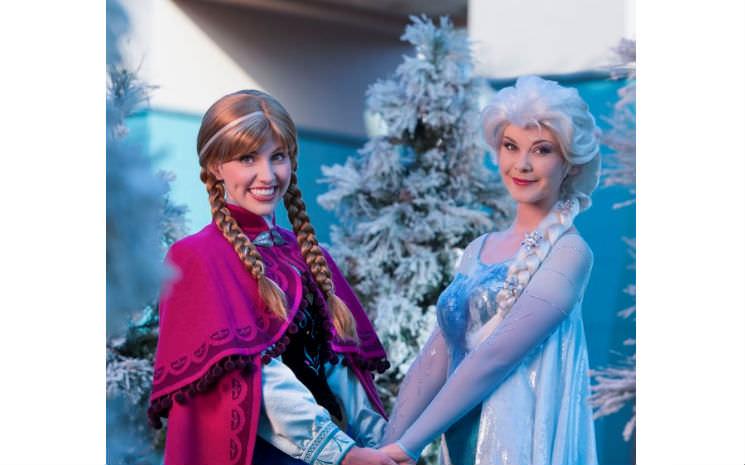Frozen no parque Hollywood Studios!!