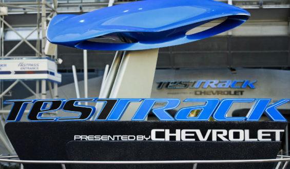 Atração da GM no Epcot: Test Track!!