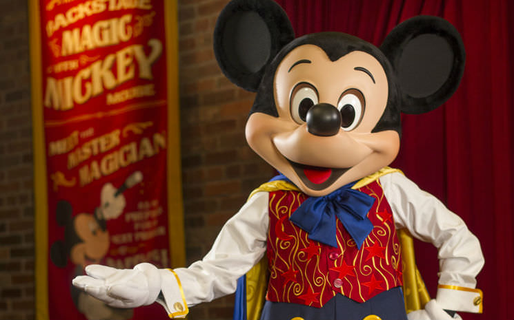 Onde estão os personagens Mickey, Minnie e toda a turma no Magic Kingdom