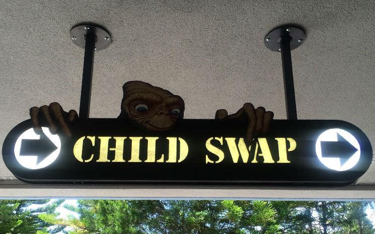 Programa Child Swap: Quando a criança não altura