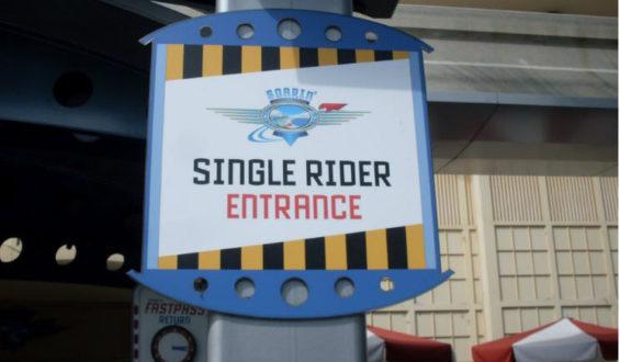 Quando ir para fila do Single Riders!!