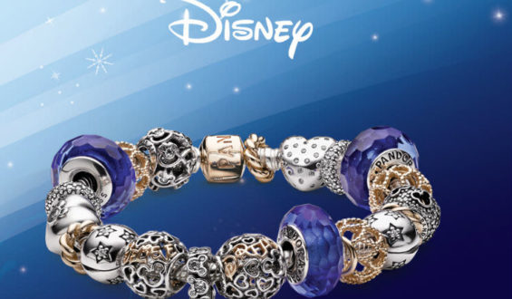 Coleção exclusiva Disney/Pandora
