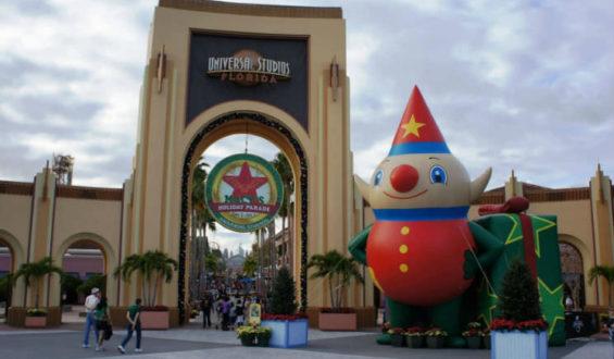 O desfile da Macy's – Universal Studios em Orlando!!