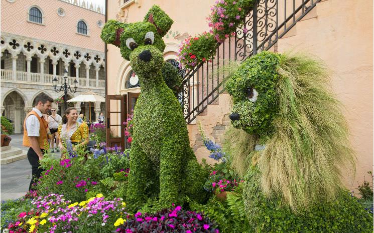 Todos os detalhes do Epcot International Flower and Garden Festival