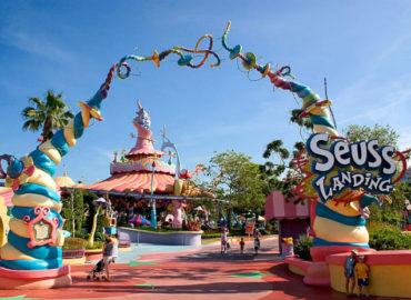 """O parque da Universal """"Islands of Adventure"""" com criança!!"""