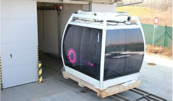 Orlando Eye, pela primeira vez vimos a roda gigante funcionar!