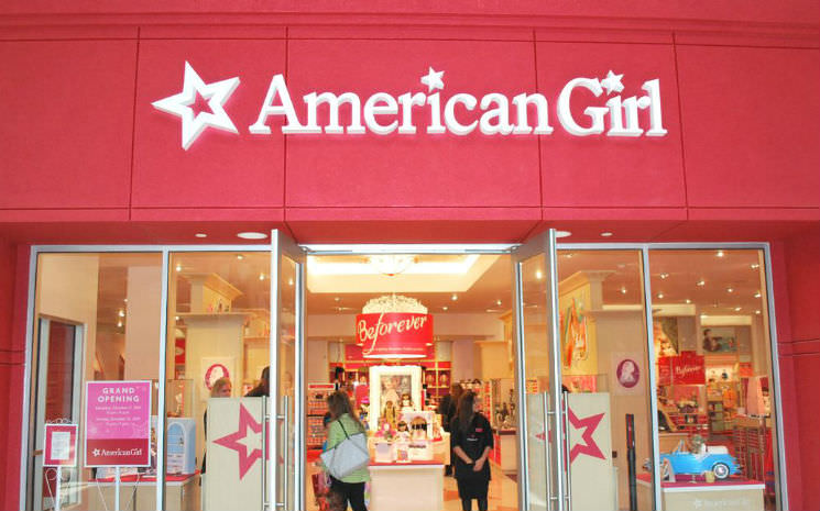 Loja da American Girl em Orlando!