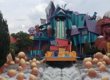 Lista com as atrações que molham nos principais parques em Orlando