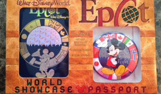 Carimbando o passaporte no Epcot!