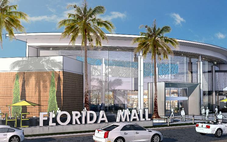 A nova praça de alimentação do Florida Mall foi inaugurada