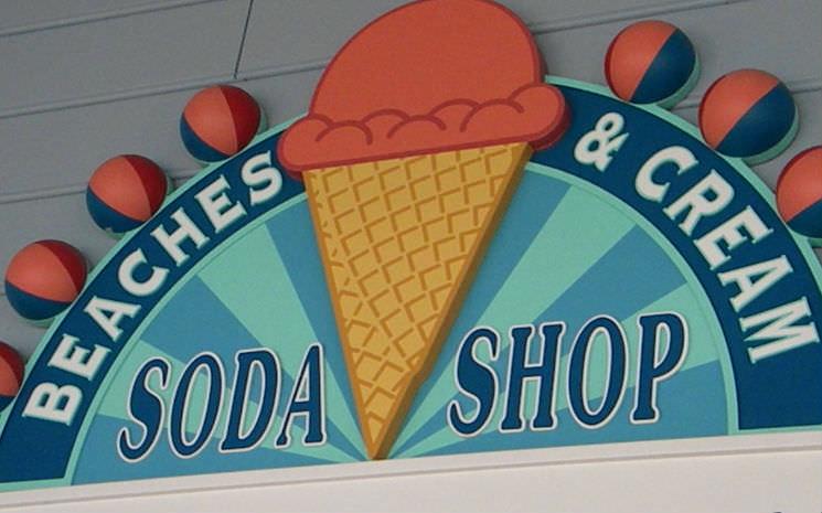 Mais um lugar na Disney para conhecer e ainda tomar um delicioso sorvete!!