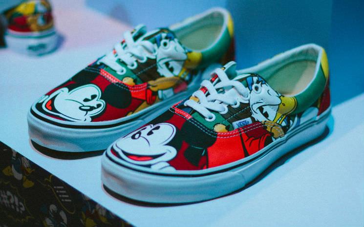 Nova coleção de produtos da Vans em parceria com a Disney!!