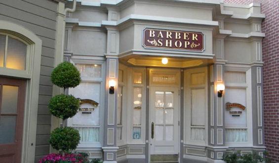 Harmony Barber Shop: Salão de cabelereiro dentro do Magic Kingdom