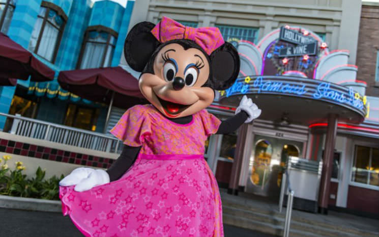 Jantar com a Minnie no Hollywood Studios