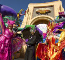 Evento do Mardi Gras na Universal Studios.