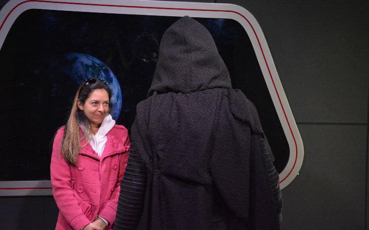 Muita emoção em conhecer Kylo Ren, o mais novo vilão de Star Wars!!