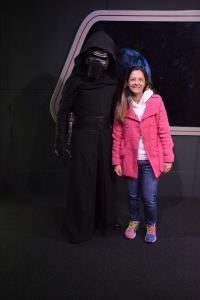personagem Star Wars Kylo Ren na Disney