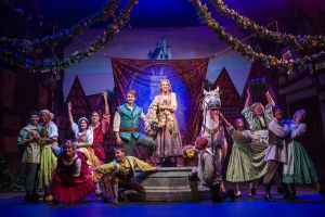 """Tangled: The Musical"" is the newest original Disney Cruise Line stage spectacular. Presented exclusively aboard the Disney Magic, it combines a heartfelt story, an enchanting score and lavish production numbers to showcase the thrilling adventure of Rapunzel and Flynn Rider as they face ruffians, thugs and a budding romance on an exhilarating journey of self-discovery. (Ryan Wendler, photographer)"