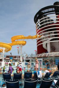 piscina Navio da Disney