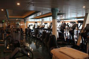 espaço fitness Navio da Disney