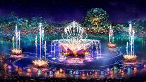Novidades da Disney em 2016 Rivers of light