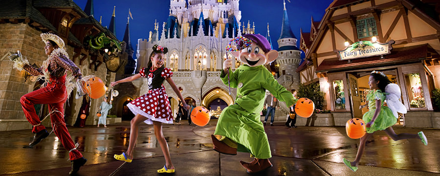 Halloween no Magic Kingdom O Mundo Disney