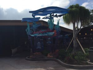 restaurante Nova Montanha russa do Sea World