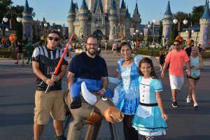 Halloween na Disney. O Mundo Disney