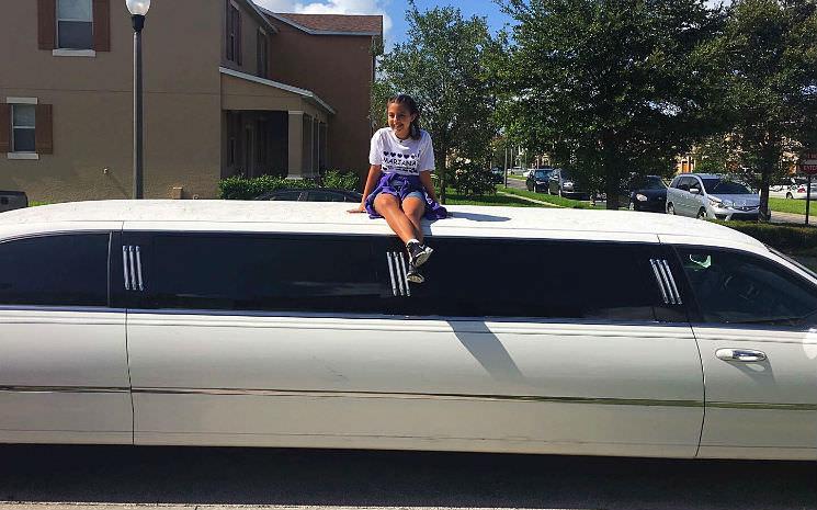 Nosso maravilhoso passeio de Limousine em Orlando