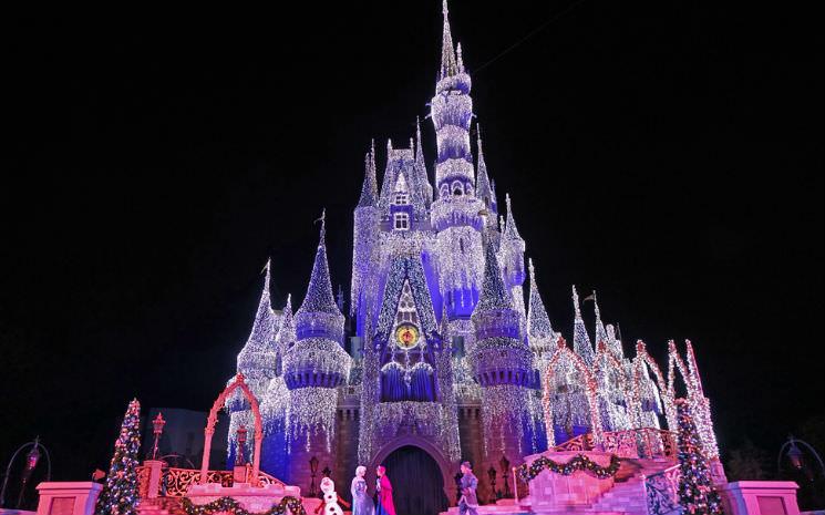 Todas as festas de Natal dos parques em Orlando