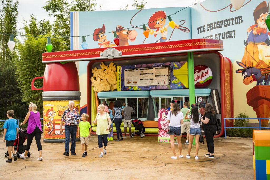 WoodyÕs Lunch Box in Toy Story Land