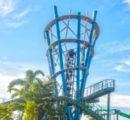 Nova atração no SeaWorld Orlando atinge o ponto mais alto