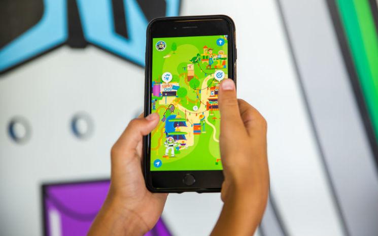"""""""Play Disney Parks"""" – primeiro aplicativo de jogos interativos estreou no Walt Disney World Resort e na Disneyland"""