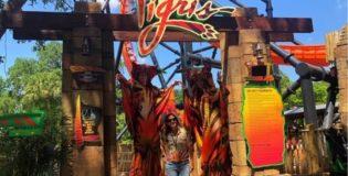Busch Gardens inaugura a montanha-russa de lançamento mais alta da Flórida