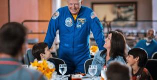 Muitas atrações legais fazem parte do complexo da NASA