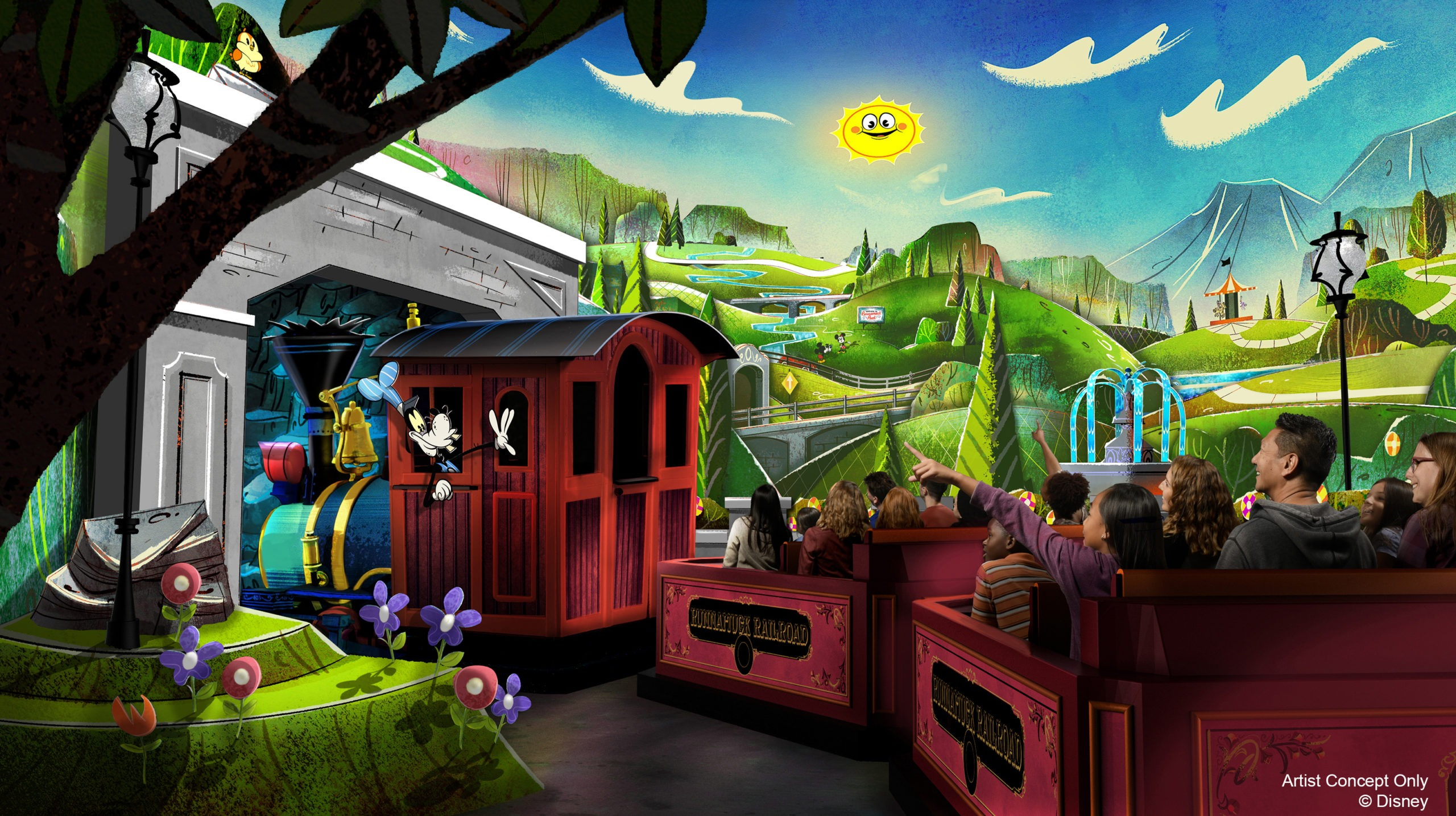 Mickey & Minnie's Runaway Railway at Disney's Hollywood Studio